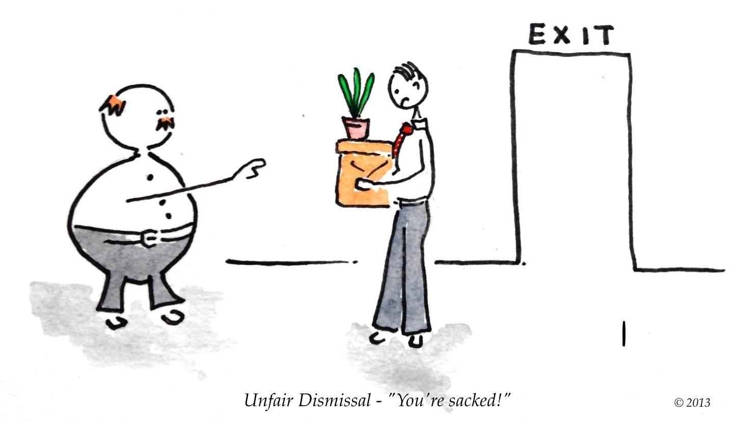 You're Sacked! - Unfair Dismissal Compensation