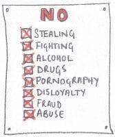 Gross Misconduct List